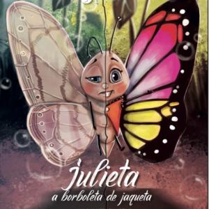 Livro Julieta a Borboleta de Jaqueta