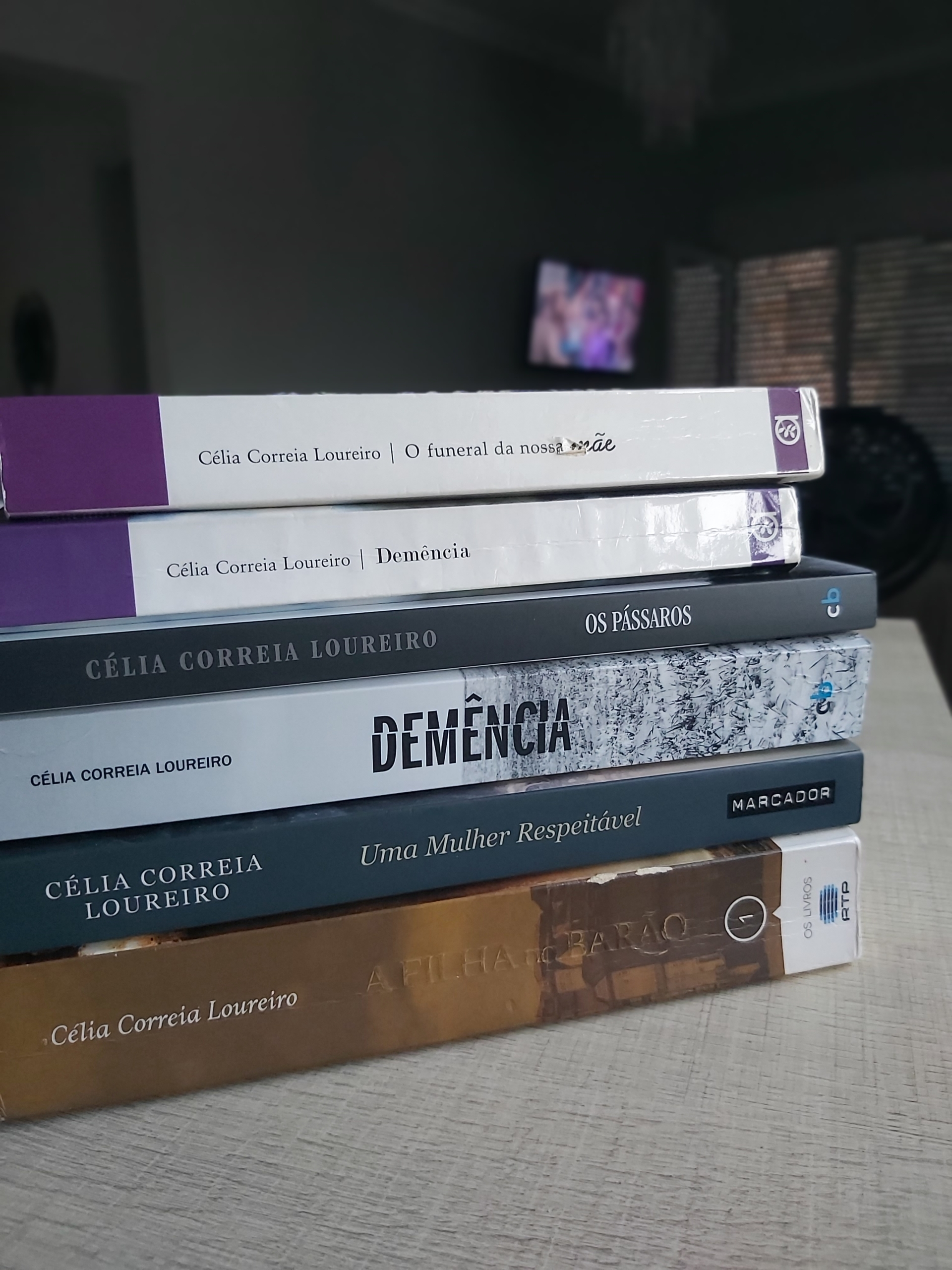Os livros da autora Célia Correia Loureiro