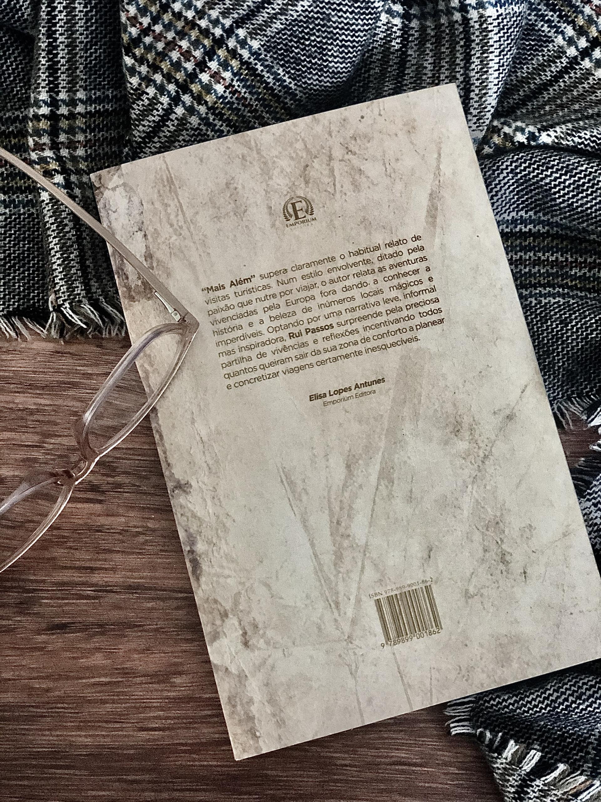 Crónica sobre livro MAIS ALÉM de Rui Passos