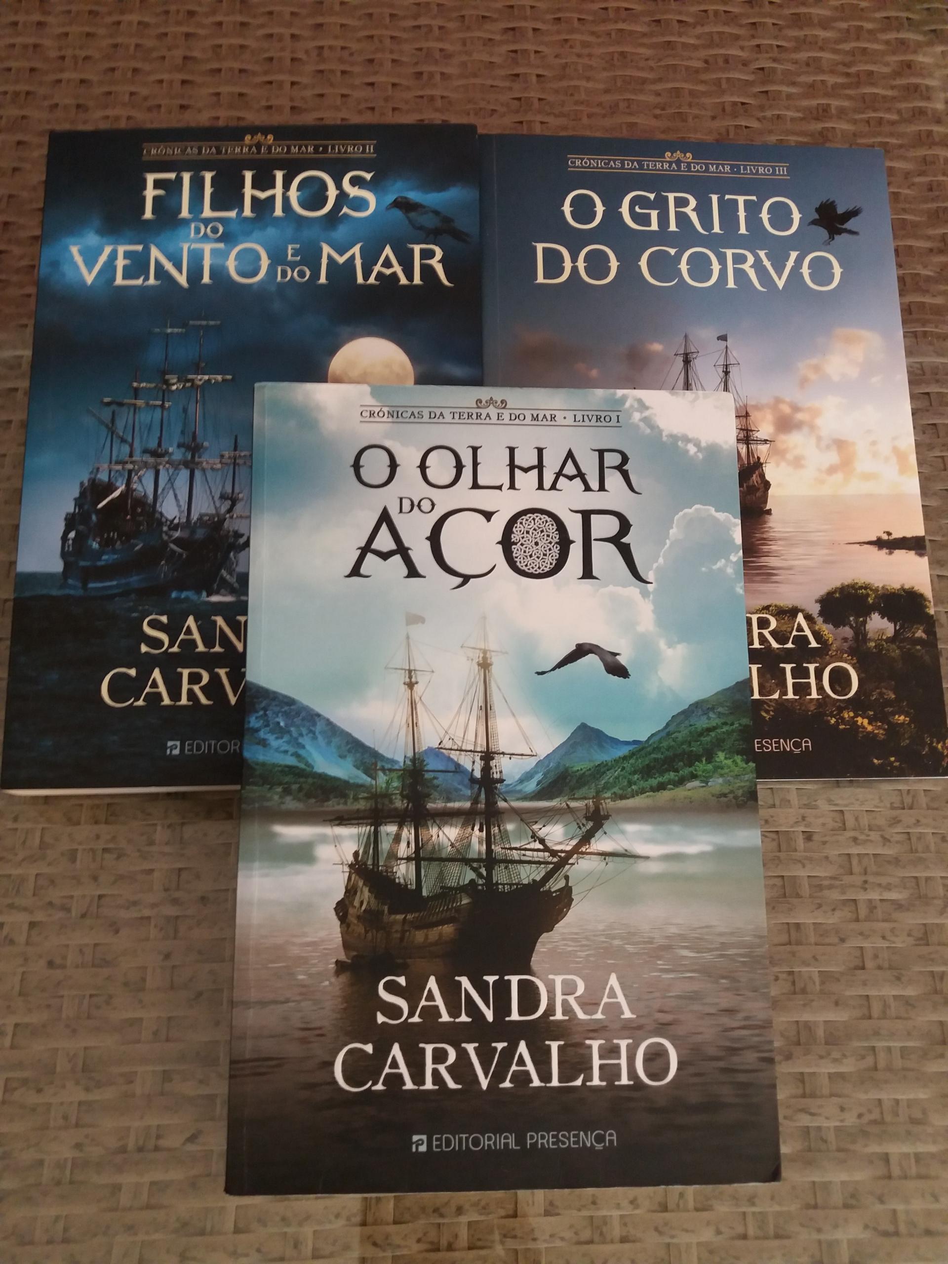 Livros de Sandra Carvalho